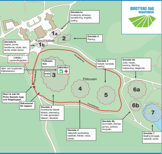 hagaparken karta Idrottens dag i Hagaparken med kidsvolley | Solna VBK hagaparken karta